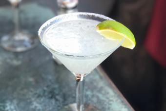 Bubbly Key Lime Martini