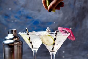 Lime(a) Bean Martini