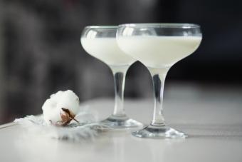 Malibu key lime martini