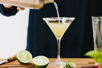 Skinny Key Lime Martini