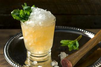 Frozen Bourbon Mint Julep