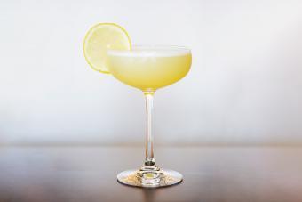 Lemon Sorbet Martini