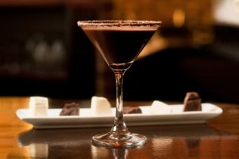 Diary Free Chocolate Martini