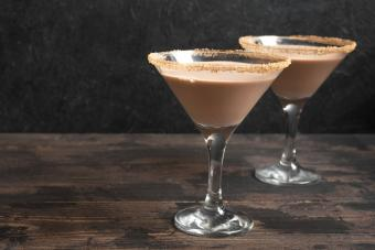 Chocolate Pudding Martini