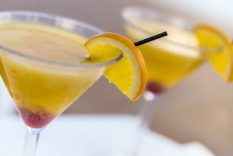 Mango daybreak cocktail