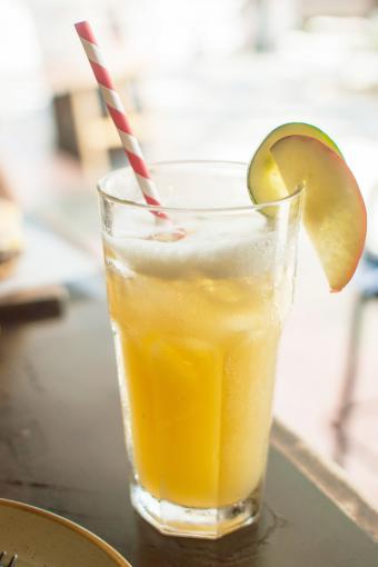Pineapple mango cocktail
