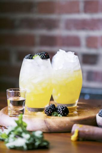 Fizzy Summer Sun Cocktail