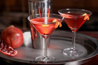 Virgin Pomegranate Martini