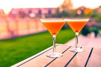 Pear-y Good Pomegranate Martini