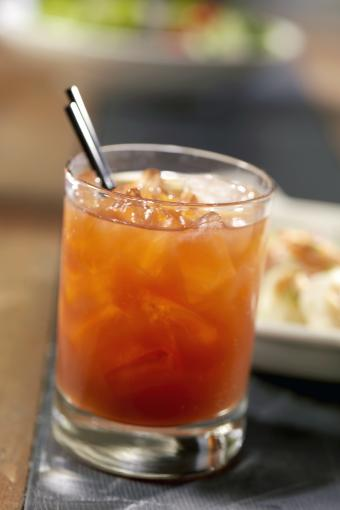 Red Snapper Cocktail on the Rocks
