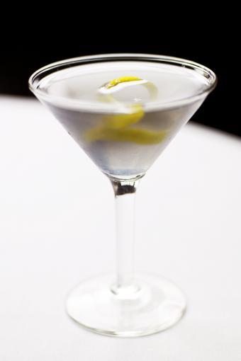 Vesper martini with a twist