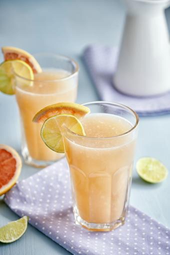 Grapefruit Lime Summer Drink Cocktail