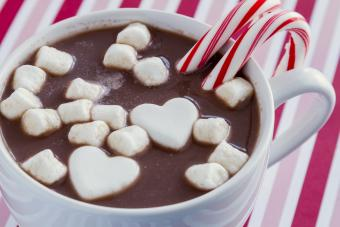 Spiked Mint Hot Chocolate