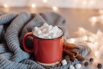 Boozy Blizzard Hot Chocolate