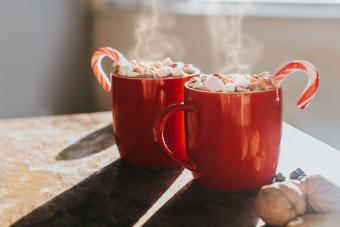 Peppermint Schnapps Hot Chocolate to Warm Your Soul