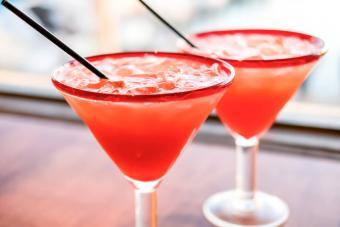 Virgin Strawberry Margarita