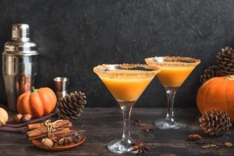 Spiced Up Pumpkin Martini Recipes