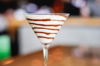 Chocolate Pumpkin Pie Martini