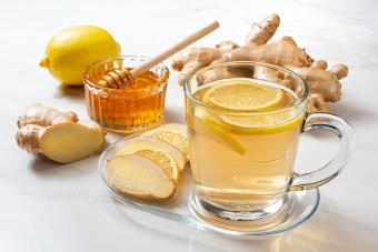 Lemon, Ginger, and Honey Gin
