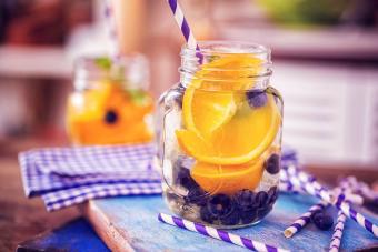 Blueberry Orange Gin