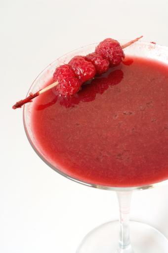 Raspberry Pure martini