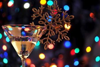 Naughty Christmas Martini