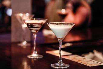 Warm Glass of Milk Martini