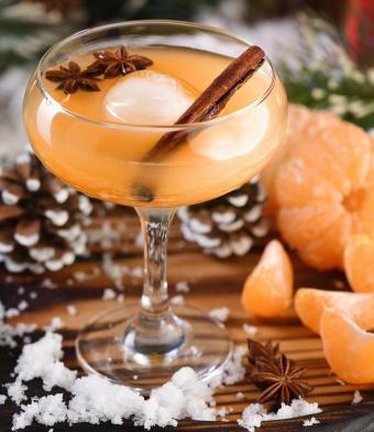 Warm & Fuzzy Martini