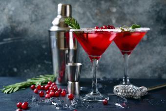 Holly Jolly Martini
