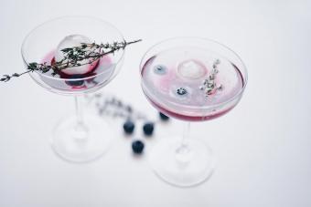 Blueberry Bramble Martini