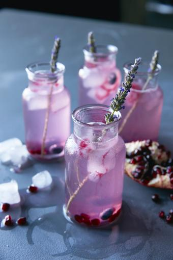 Lavender Blueberry Drink