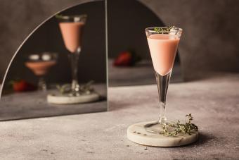 Baileys Chocolate Raspberry Martini