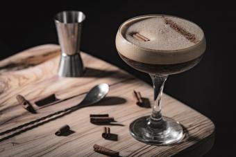 Baileys Spiced Chocolate Martini