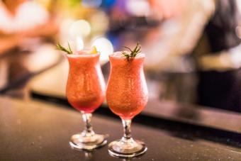 Virgin Strawberry Rosemary Daiquiri