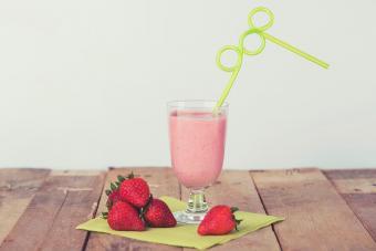 Virgin Strawberries and Cream Daiquiri