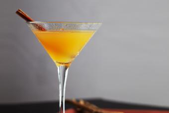 Spiced Apple Martini