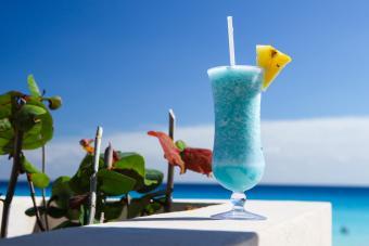 Blue Hawaiian Blue sky