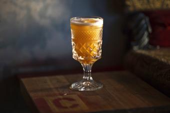 Maple Sour Cocktail