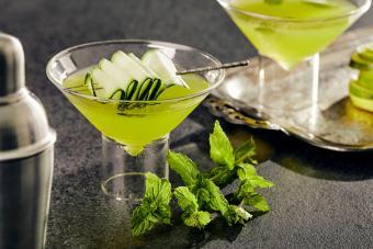 Gin Basil Martini