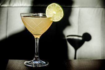 Lime Basil Martini