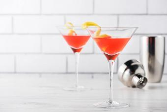 Sparkling French Martini