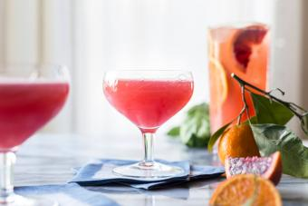 Sapphire French Martini