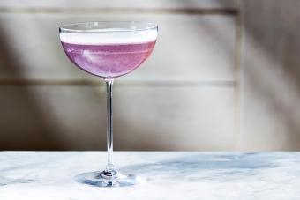 Regal Basil Martini