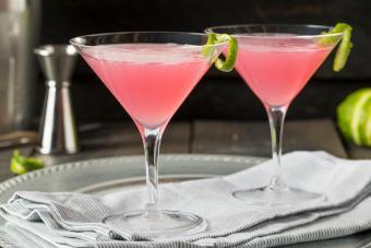 Strawberries and Cream Baileys Martini