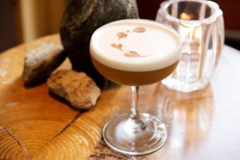 Salted Caramel Baileys Martini