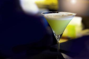 Honey Lemon Meringue Martini