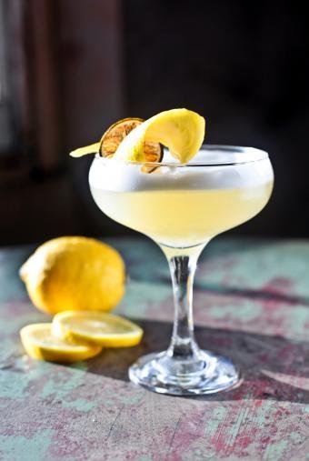 Whiskey Limoncello Sour