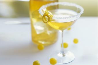 Limoncello Lemon Drop Martini