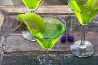 Apple Melon Martini