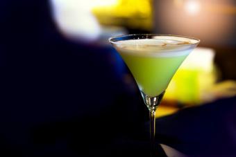 Midori Sour Martini